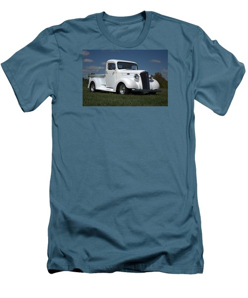 1937 Chevrolet Pickup Truck Men's T-Shirt (Slim Fit) by Tim McCullough
