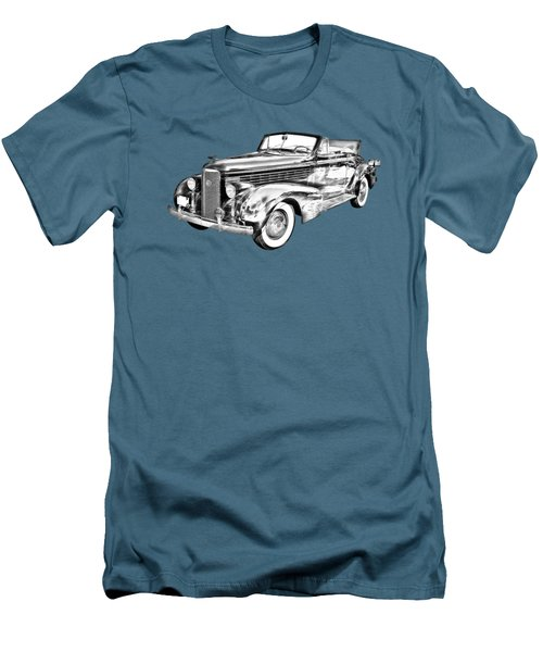 1938 Cadillac Lasalle Illustration Men's T-Shirt (Athletic Fit)