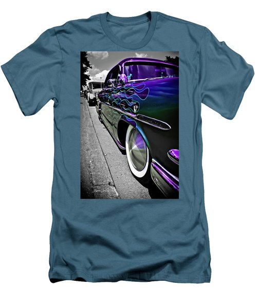 Men's T-Shirt (Slim Fit) featuring the photograph 1953 Ford Customline by Joann Copeland-Paul