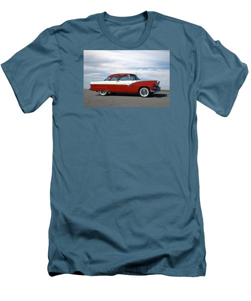 1955 Ford Victoria Men's T-Shirt (Slim Fit) by Tim McCullough