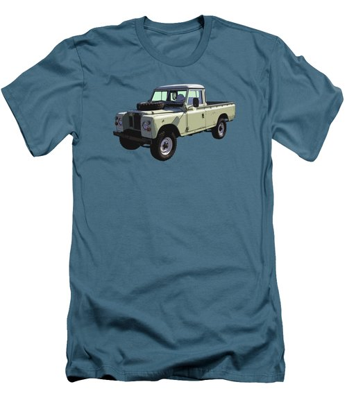 1971 Land Rover Pickup Truck Men's T-Shirt (Slim Fit) by Keith Webber Jr