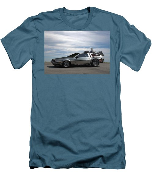 1981 Delorean Dmc12 Men's T-Shirt (Slim Fit) by Tim McCullough