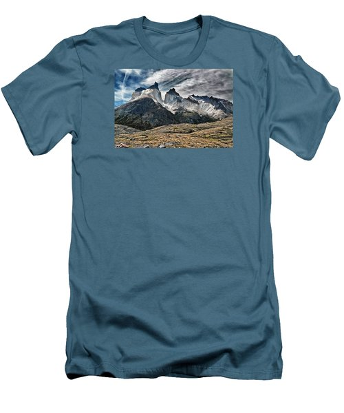 Cuernos Del Paine Men's T-Shirt (Athletic Fit)