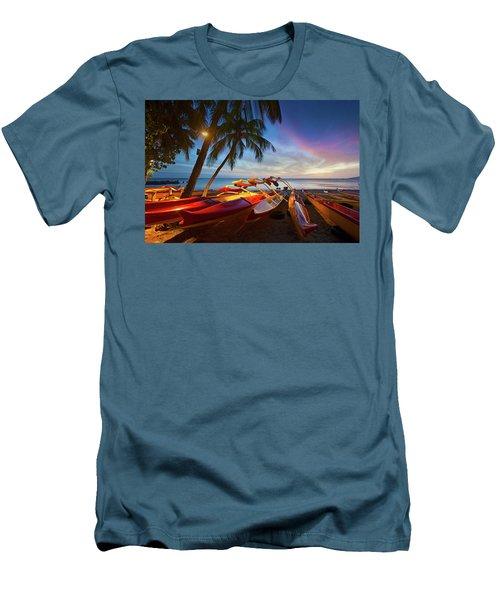 Evening Falls Men's T-Shirt (Slim Fit) by James Roemmling