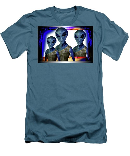 Explorers   Men's T-Shirt (Slim Fit) by Hartmut Jager