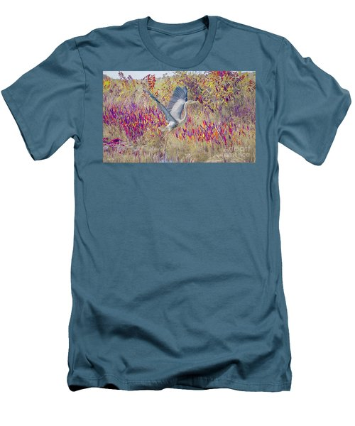 Fly Fly Away Men's T-Shirt (Slim Fit) by Judy Kay
