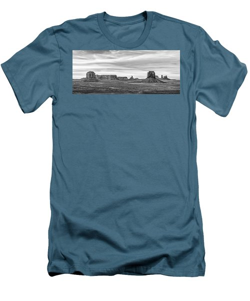 Men's T-Shirt (Slim Fit) featuring the photograph From Artist's Point by Jon Glaser