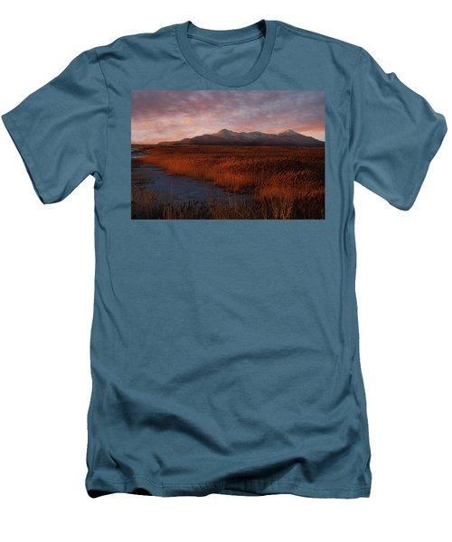 Great Salt Lake Men's T-Shirt (Slim Fit) by Utah Images