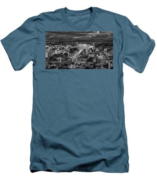 Il Colosseo Men's T-Shirt (Slim Fit) by Sonny Marcyan