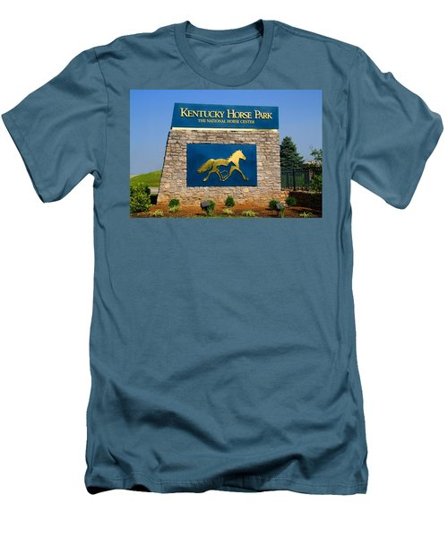 Kentucky Horse Park Men's T-Shirt (Athletic Fit)