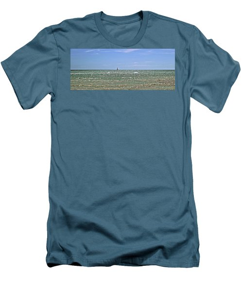 Key West Cover Photo Men's T-Shirt (Slim Fit) by JAMART Photography