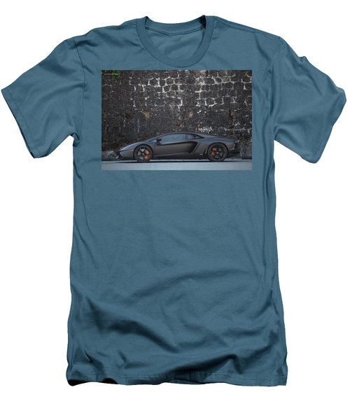 #lamborghini #aventador  Men's T-Shirt (Athletic Fit)