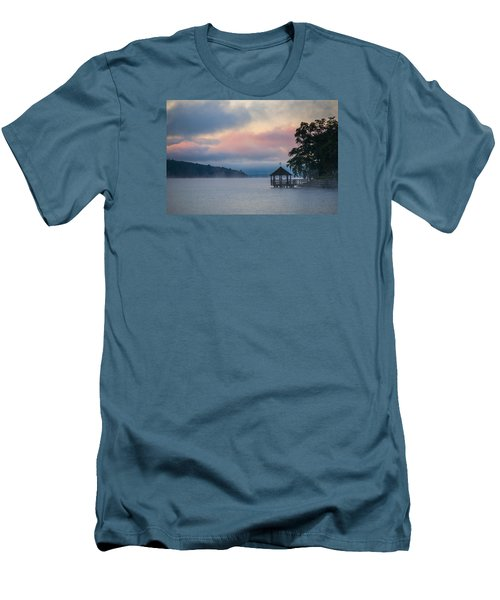Meredith New Hampshire Men's T-Shirt (Slim Fit) by Robert Clifford