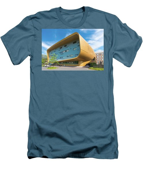Men's T-Shirt (Slim Fit) featuring the photograph Modern Building by Hans Engbers