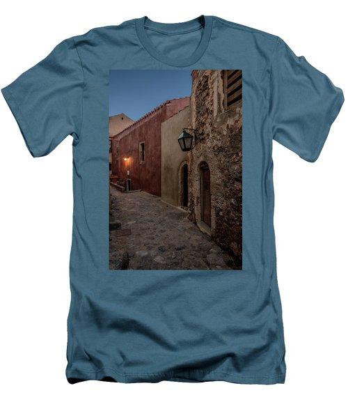 Monemvasia / Greece Men's T-Shirt (Slim Fit) by Stavros Argyropoulos
