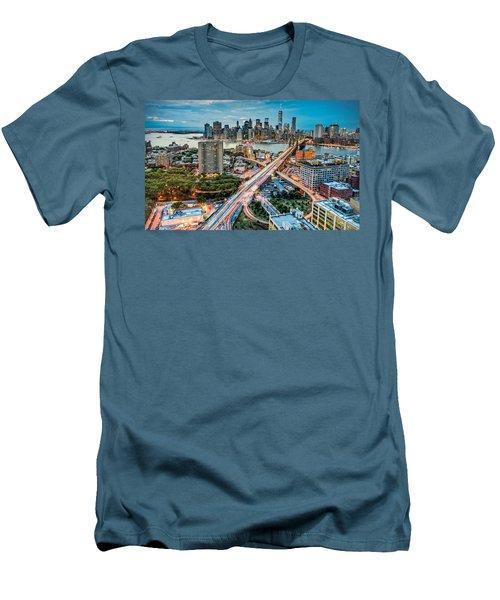 New York Men's T-Shirt (Athletic Fit)