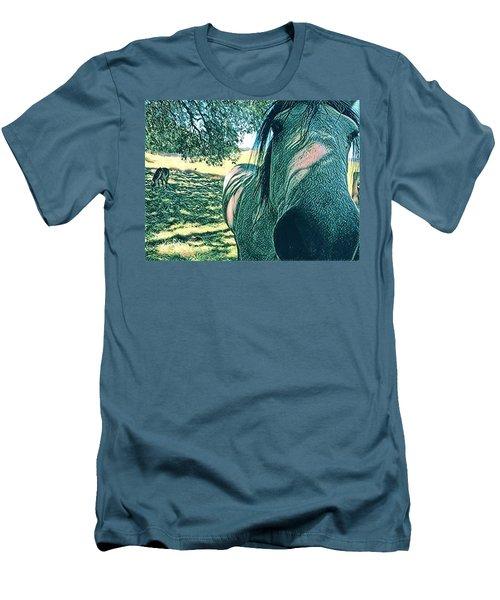 Nosey Belle Men's T-Shirt (Athletic Fit)