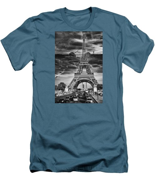 Paris Men's T-Shirt (Slim Fit) by Hayato Matsumoto