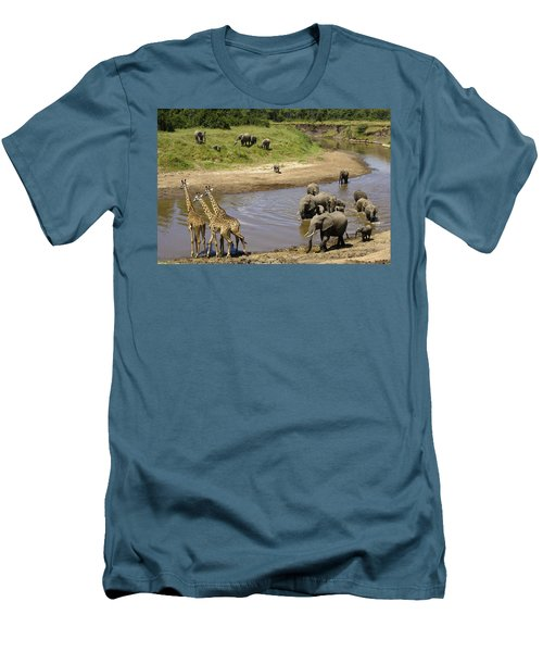 River Crossing Men's T-Shirt (Athletic Fit)