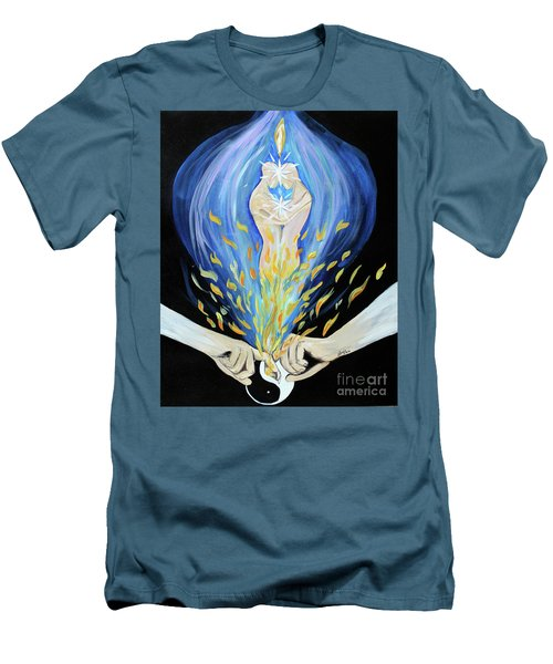 Twin Flame Men's T-Shirt (Athletic Fit)