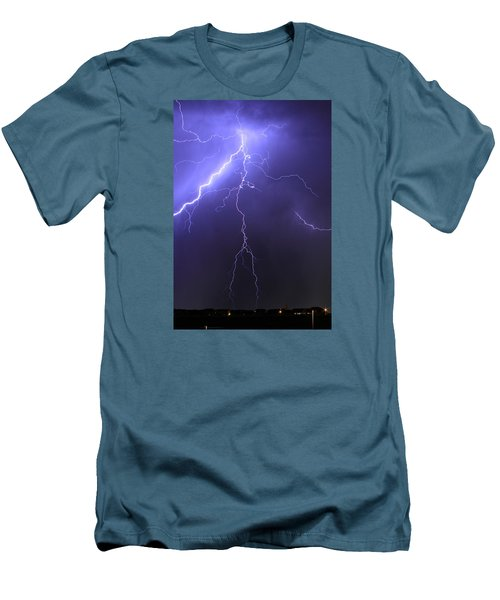 West Jordan Lightning 4 Men's T-Shirt (Athletic Fit)