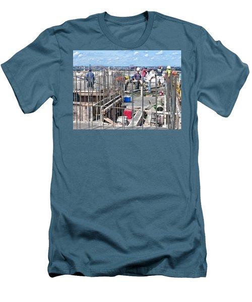 27th Street Lic 2 Men's T-Shirt (Slim Fit) by Steve Sahm
