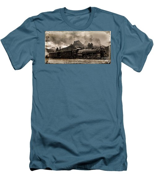 2816 Empress At Three Sisters - Canmore Men's T-Shirt (Athletic Fit)