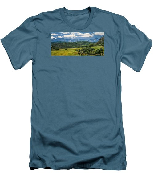 #2918 - Sneffles Range, Colorado Men's T-Shirt (Athletic Fit)