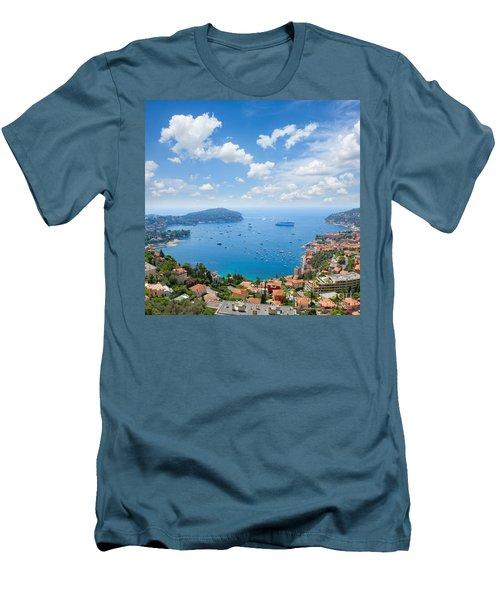 cote dAzur, France Men's T-Shirt (Slim Fit) by Anastasy Yarmolovich