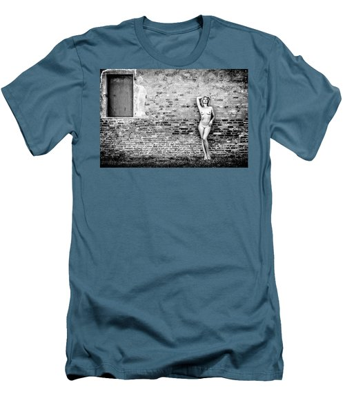 Men's T-Shirt (Athletic Fit) featuring the photograph Faith by Traven Milovich