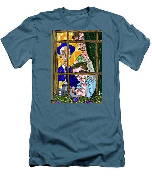 3 Muses Men's T-Shirt (Athletic Fit)
