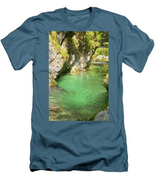 The Vintgar Gorge Men's T-Shirt (Athletic Fit)
