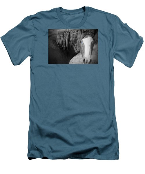 Wild Mustang Horse Men's T-Shirt (Athletic Fit)