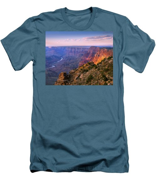 Canyon Glow Men's T-Shirt (Slim Fit) by Mikes Nature