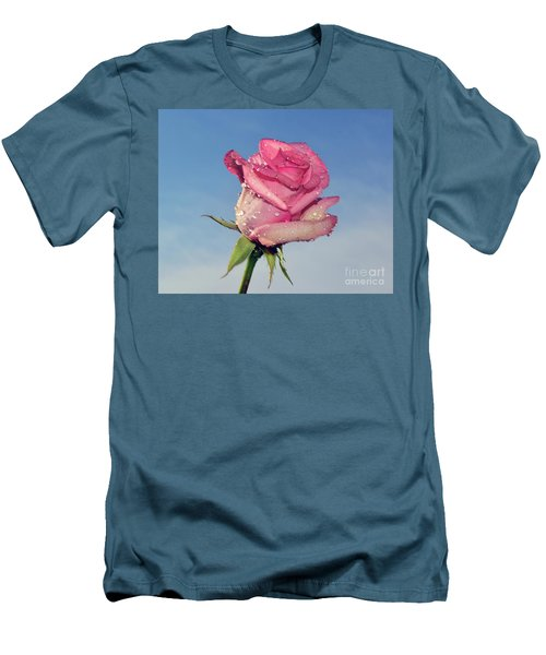 Nice Rose Men's T-Shirt (Athletic Fit)