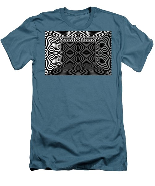 Men's T-Shirt (Slim Fit) featuring the photograph 3d Mg553dw by Mike McGlothlen