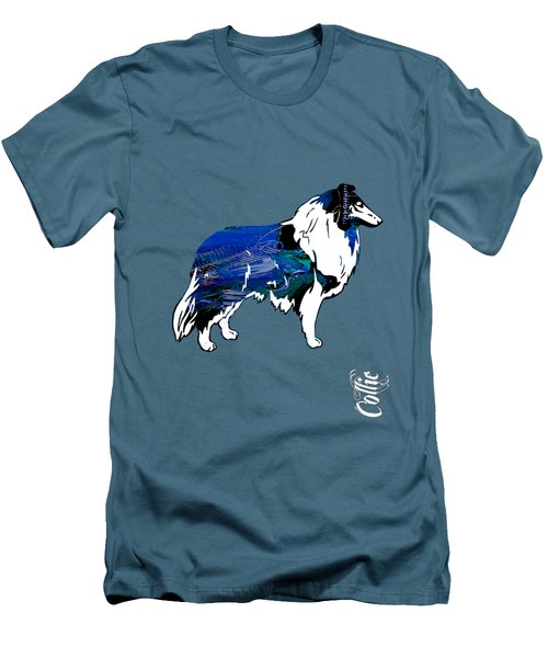 Collie Collection Men's T-Shirt (Slim Fit) by Marvin Blaine