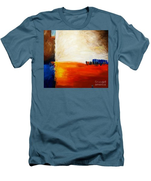 4 Corners Landscape Men's T-Shirt (Athletic Fit)