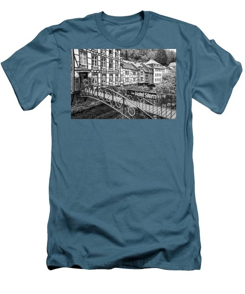 Monschau In Germany Men's T-Shirt (Slim Fit) by Jeremy Lavender Photography