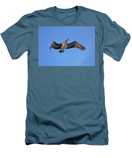 Men's T-Shirt (Slim Fit) featuring the photograph 4- Pelican by Joseph Keane