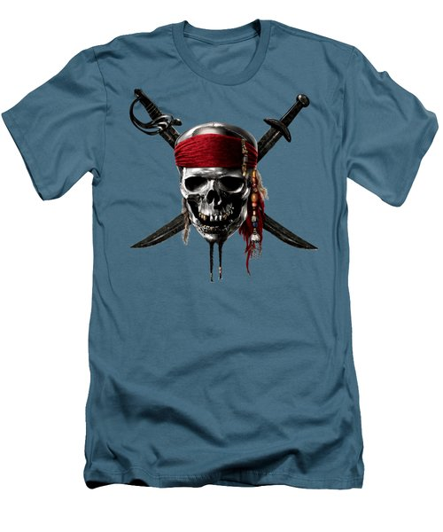 Pirates Of The Caribbean On Stranger Tides 2011  Men's T-Shirt (Athletic Fit)
