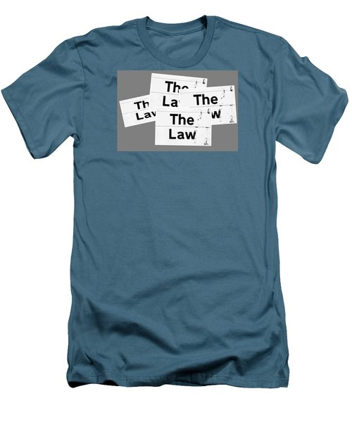 The Law Men's T-Shirt (Athletic Fit)