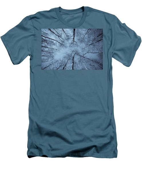 Trees In Epping Forest Men's T-Shirt (Athletic Fit)
