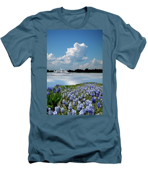 Men's T-Shirt (Athletic Fit) featuring the photograph 4464 by Peter Holme III