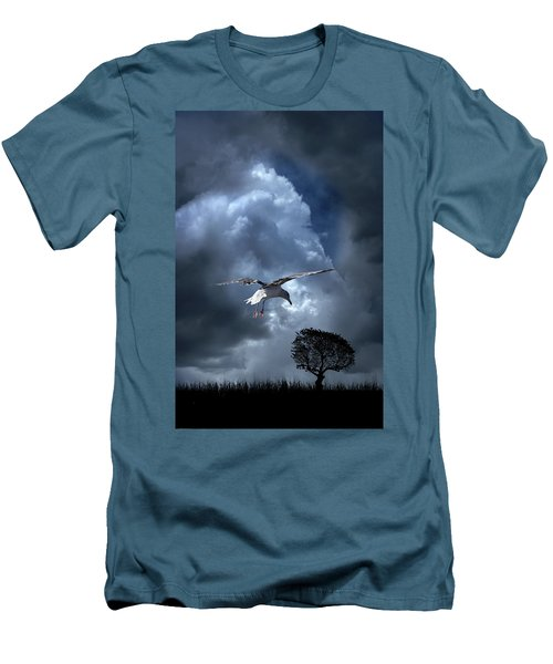Men's T-Shirt (Athletic Fit) featuring the photograph 4472 by Peter Holme III