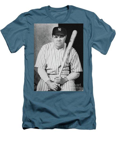 Babe Ruth Men's T-Shirt (Slim Fit)