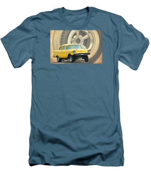 57 Gasser Men's T-Shirt (Slim Fit) by Steve McKinzie
