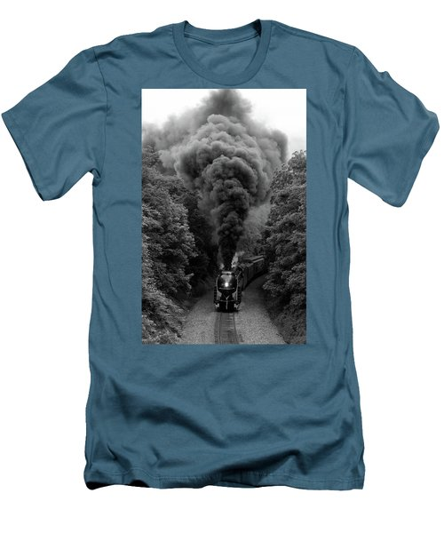 611 At Fiery Road Overpass Men's T-Shirt (Athletic Fit)