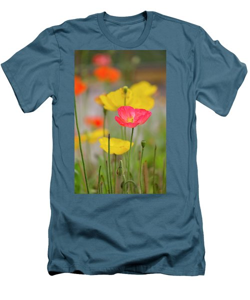 Flower Men's T-Shirt (Athletic Fit)