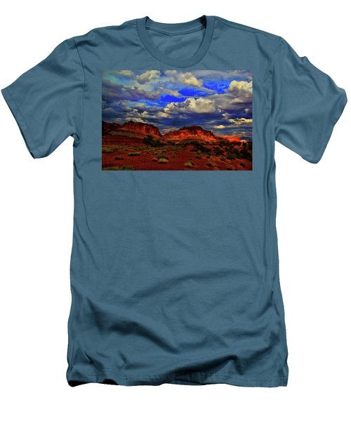 Capitol Reef National Park Men's T-Shirt (Athletic Fit)
